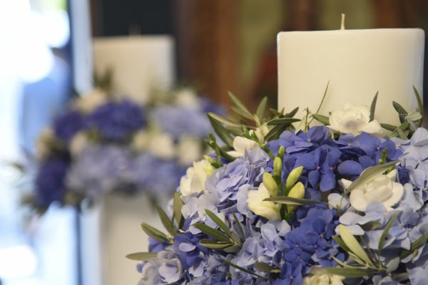 Cobalt Blue Wedding Σχοινιάς